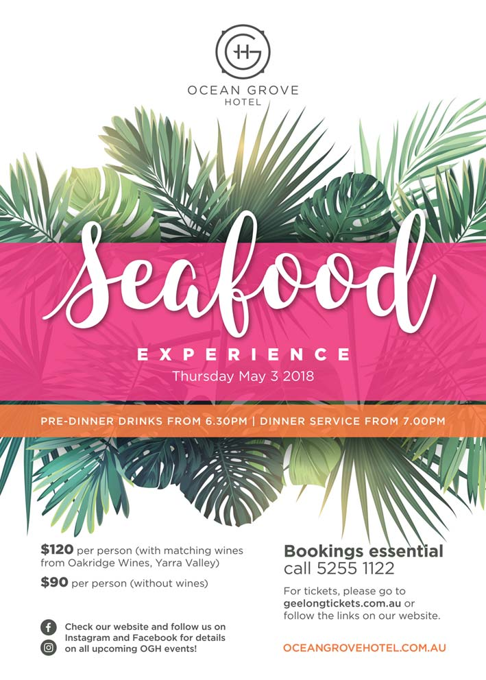 Seafood Experience Fyer