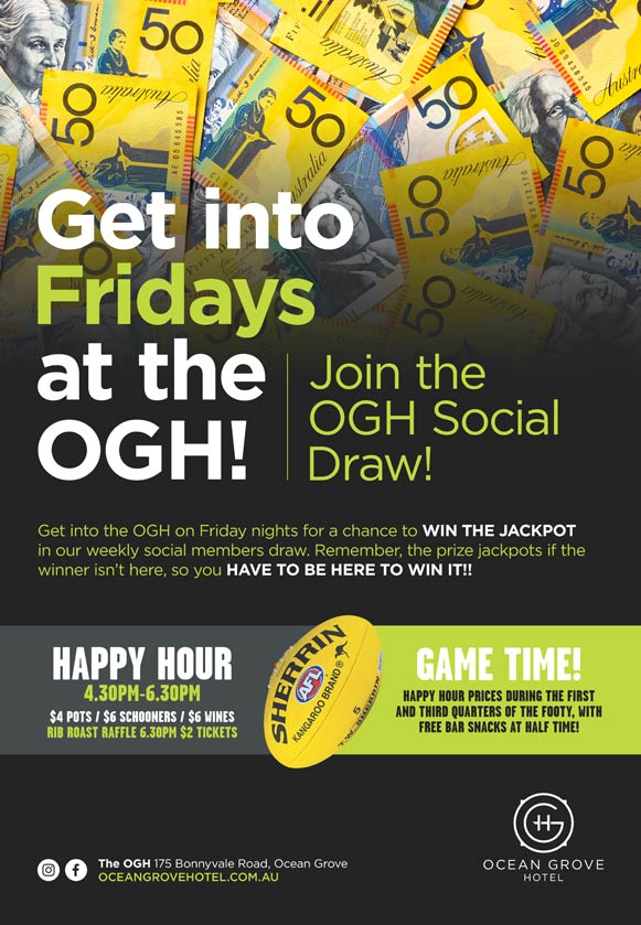 Get Into Fridays at the OGH!